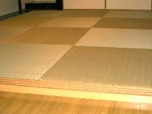 人気の縁なし畳のイメージ